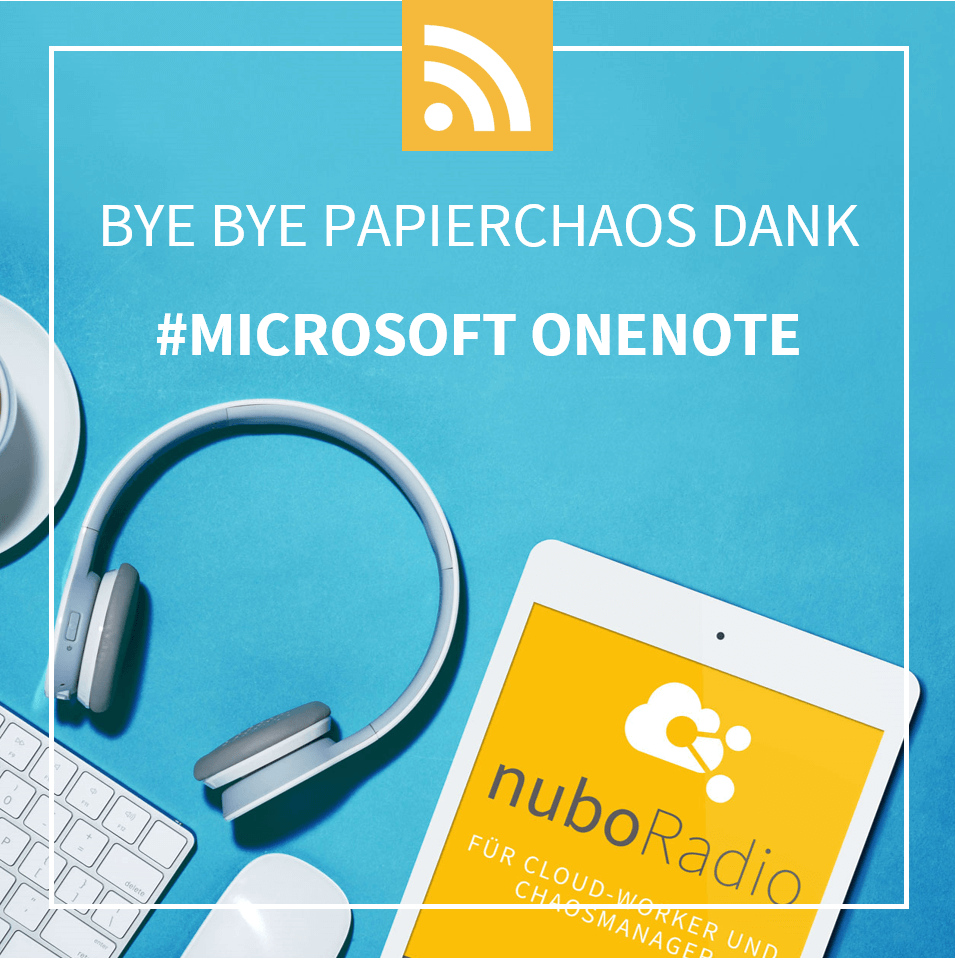 Microsoft OneNote - nuboworkers Podcast Digitalisierung