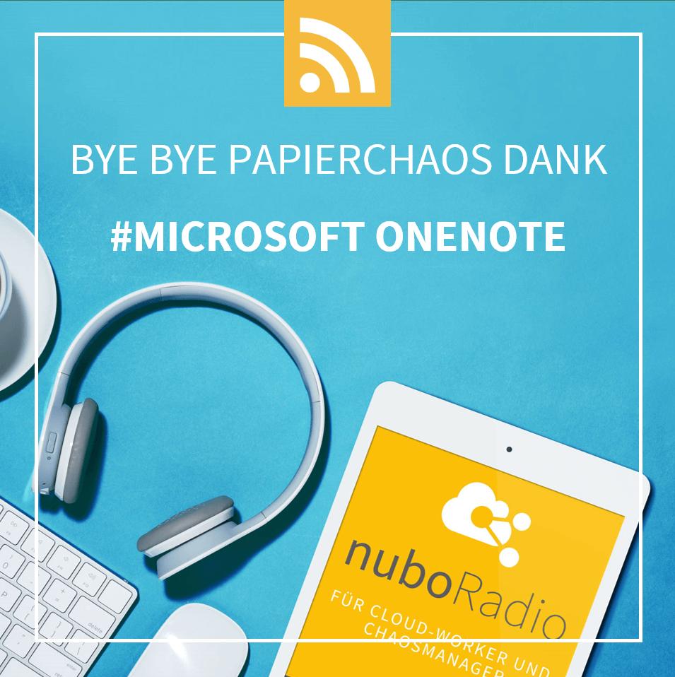 Microsoft OneNote - nuboworkers Podcast Digitalisierung