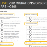 Migrationscheckliste Office365