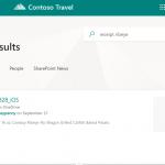 Contoso Travel Suchergebnisse | nuboRadio