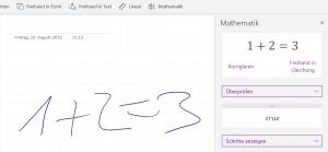 Gleichungen in Microsoft Programmen mit dem Surface Pen | nuboRadio