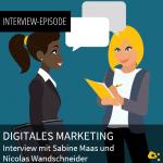 Digitales Marketing - Interview Episode nuboRadio mit Sabine Maas und Nikolas Wandschneider