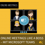 Onlinemeetings like a boss