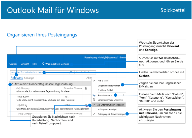 Outlook Mail für Windows