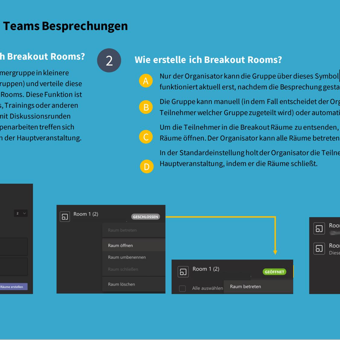 Tipps Breakoutrooms