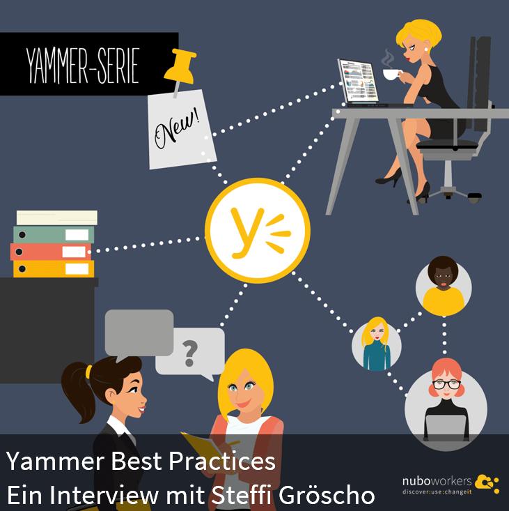 Yammer Best Practices mit Steffi Gröscho | nuboRadio