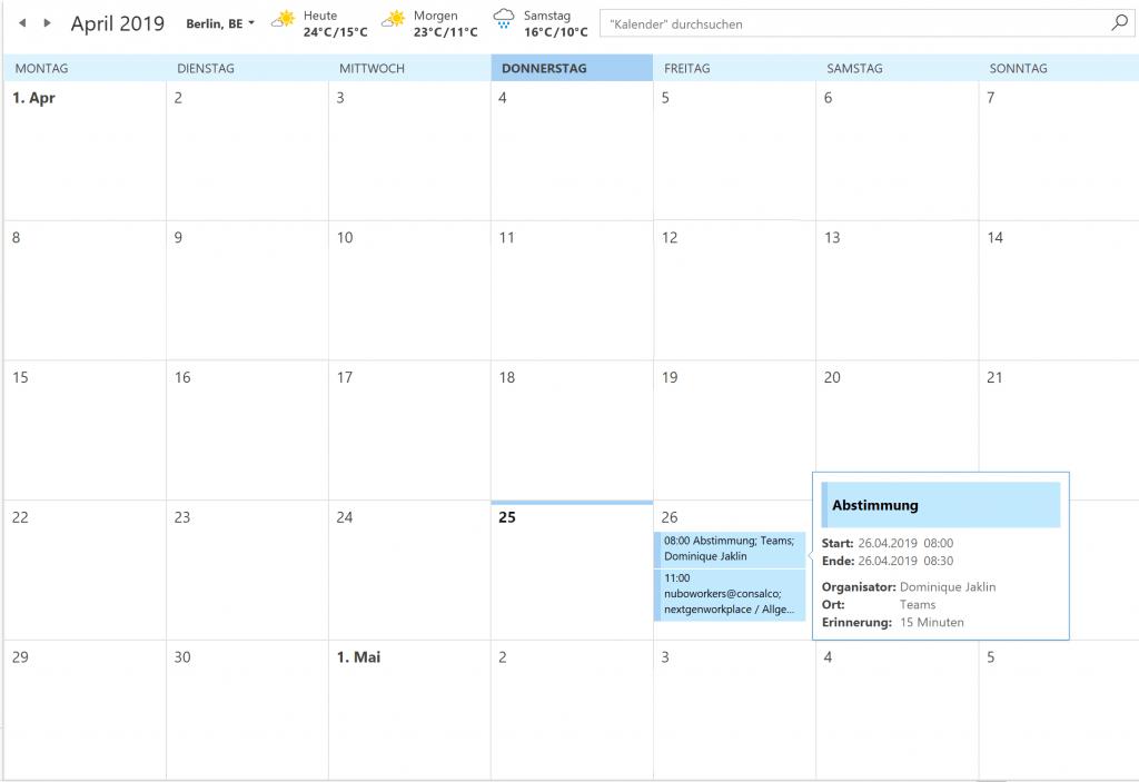 FindTime Terminkalender nuboRadio