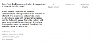 Microsoft Roadmap über Sharepoint | nuboradio